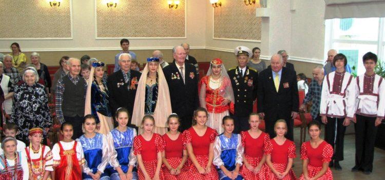 Концерт в пансионате ветеранов войны «Коньково»