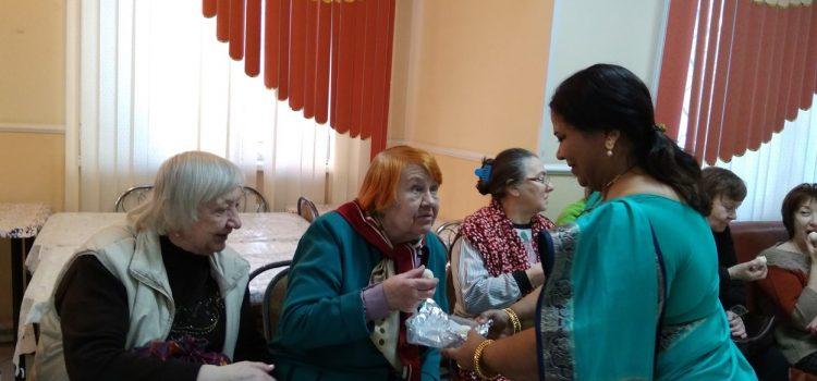 Благотворительный проект в Центре социального обслуживания