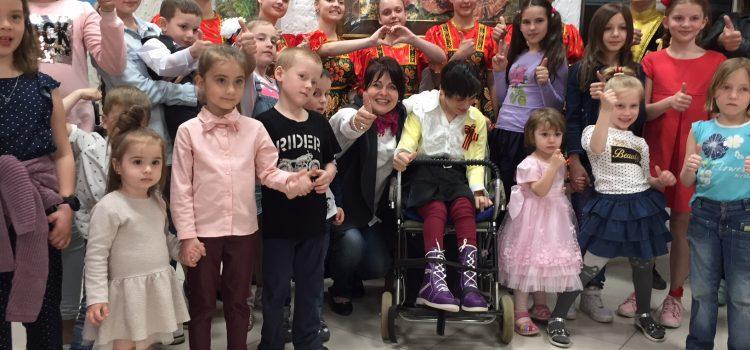 Праздник «Цветы победы»  для детей