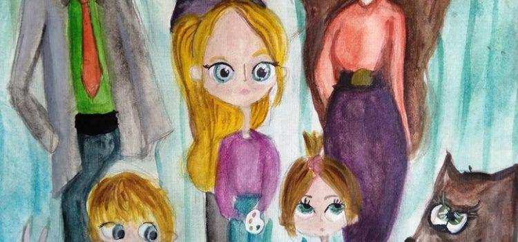 Конкурс детского рисунка «Счастливая семья»